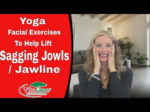 Yoga Facial Exercises To Help Lift Sagging Jowls : Jawline - VitaLife Show Episode 93