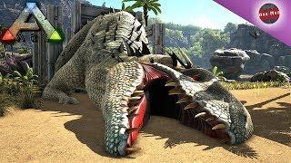 Indominus Rex Taming   Ragnarok   Ark Survival Evolved