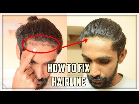 How to FIX/ EDGE UP your Hairline at Home ( Without Barber ) | Hairline Problem ★TheRealMenShow★