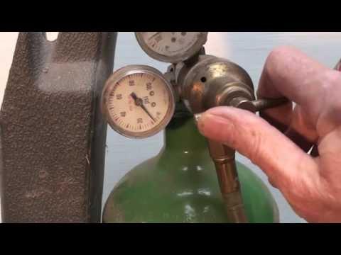 How to set the oxy acetylene regulators