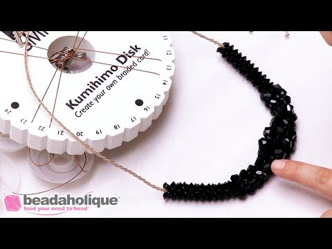 How to Make Braided Kumihimo Jewelry with Soft Flex Beading Wire by Sara Oehler