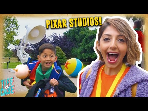 We Surprise Our Son With A Trip To Pixar Studios!