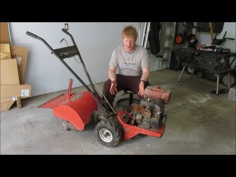 Revive an Old Machine with a New Engine from Harbor Freight