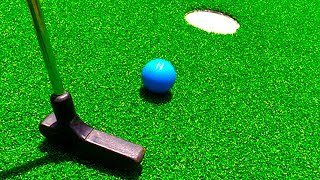 Mini Golf Let's Play For Real! Loser Eats Bean Boozled Challenge! - Mini Golf Game | Matt3756