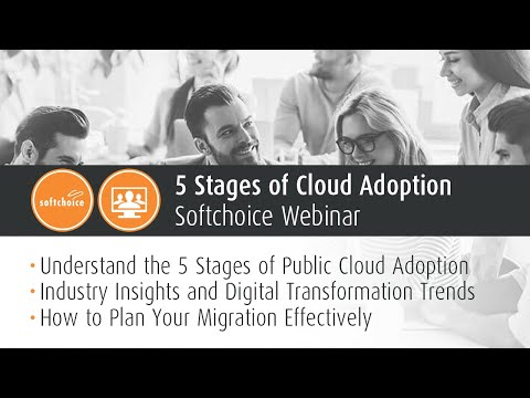 Webinar: 5 Stages of Cloud Adoption
