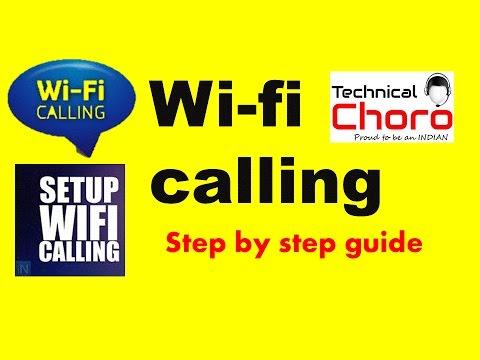 WiFi Calling Hindi