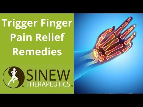 Trigger Finger Pain Relief Remedies