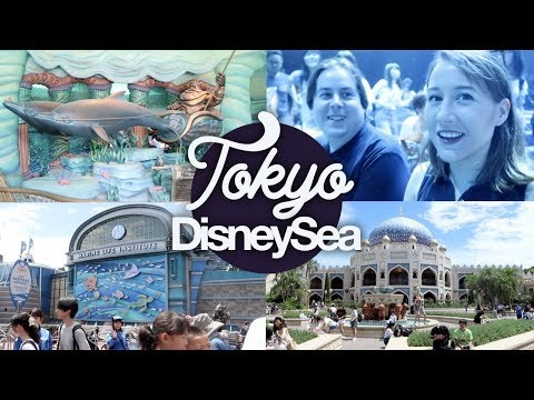Tokyo DisneySea 1! Shows, Lands and New Nemo Ride! Japan Summer 2017