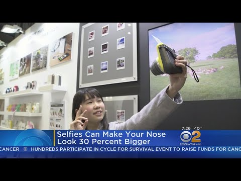 Selfies Can Make Your Nose Look 30 Percent Bigger, Study Says