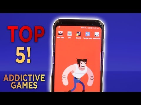 TOP 5 MOST Addictive Games For Android (2018)