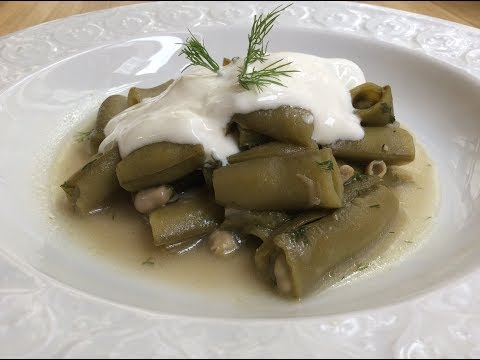 FRESH BROAD BEANS IN THEIR PODS RECIPE - Authentic Turkish Food