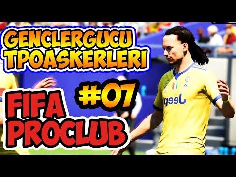 Fifa 18 Pro Clubs Türkçe / Tpo 8.Sezon Pro Ligi / 7.Hafta / Gençlergücü - Tpo Askerleri