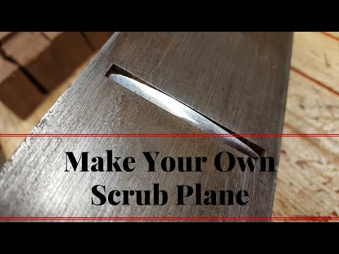 How to Make a Scrub Plane From a 5$ Cheap Number Five Foreplane