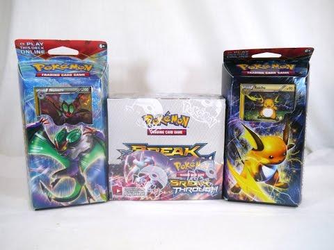 Unboxing: Pokémon TCG - XY: BREAKthrough Booster Box and Theme Decks