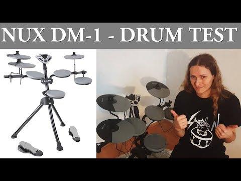 NUX DM-1 drum test - Review by Bobnar Simon