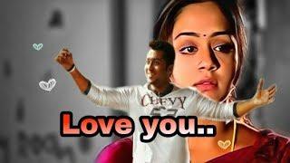 Love you totally/sillunu oru kaadhal dialouge/Surya,boomika,jyothika/