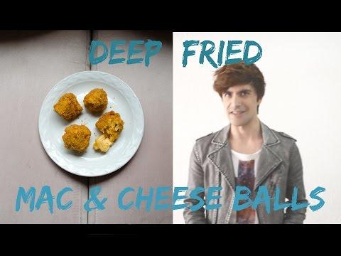 Cooking: Deep Fried Mac & Cheese Balls