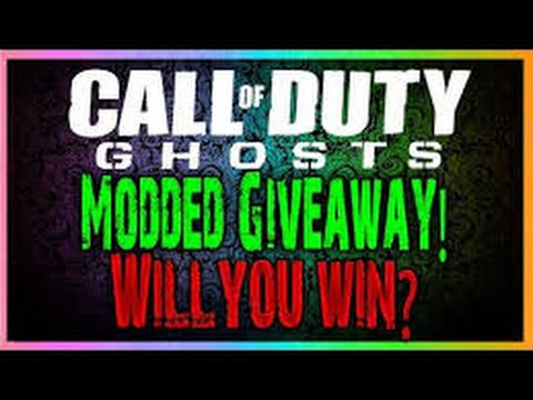 Modded Ghost Account Giveaway !