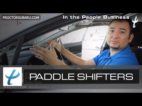 Paddle Shifter -  CVT Transmission - What are Paddle Shifters Used For On a Vehicle?