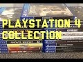 PlayStation 4 collection so far