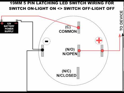 Opt7 Led Switch Wiring Diagram | Wiring Diagram Toogle Switch Wiring Diagram Pilot on