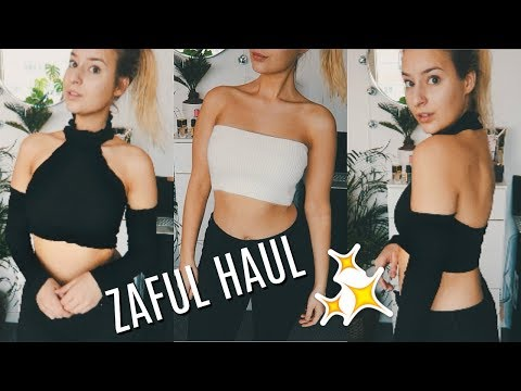 ZAFUL Try-On Haul ✨ Lots of croptops !!!! | COCO Chanou