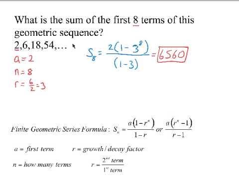 Calculating Geometric Series