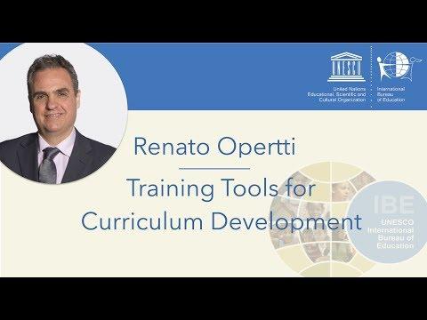 Training Tools for Curriculum Development | Renato Opertti