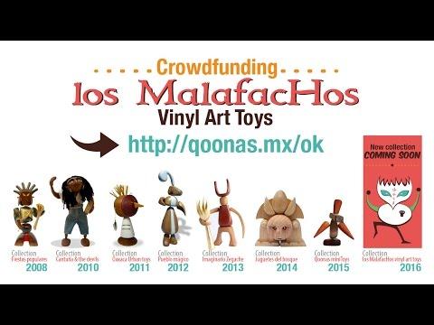 Crowdfunding los Malafachos Art Toys en vinyl