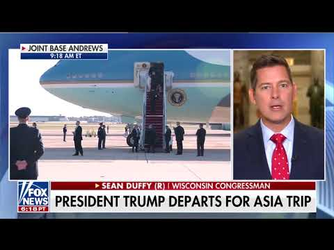 Sean Duffy on Trump Asia Trip and Tax Reform