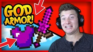 GOD ARMOR | LIFE of 2 PROS vs NOOBS in MINECRAFT UHC!