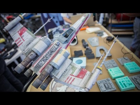 Dave Goldberg's Star Wars Model Builds!