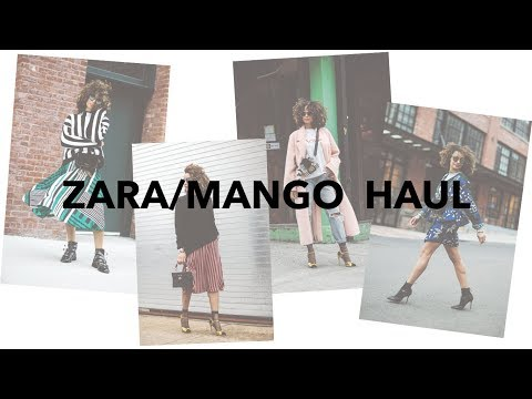 Zara/Mango Haul + Try On + Review | Scout The City