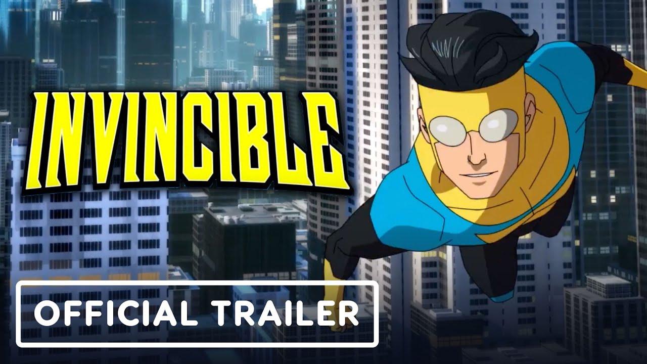 Invincible - Official Trailer (2021) Steven Yeun, J.K. Simmons