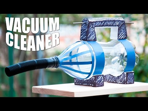 How to Make a Vacuum Cleaner DIY