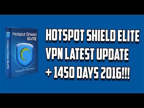 [ Tutorial ] Hotspot Shield Elite VPN Latest Update + 1450 Days License Patch 2016
