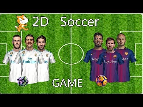 Scratch Game - 2D Soccer