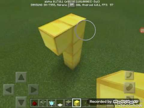 How to make a laser door in minecraft pocket edition