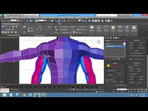 Box and Edge Modeling a Character (Autodesk 3ds Max)