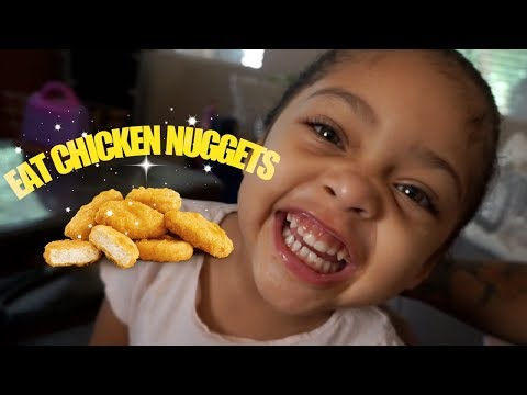 SICK TODDLER SAYS EAT CHICKEN NUGGETS!    [ FAMILY VLOG ]