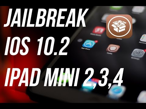 How to Jailbreak iPad Mini 2,3,4 (iOS 10.2)(Safe)(Works on Iphone 6,6s and plus versions)