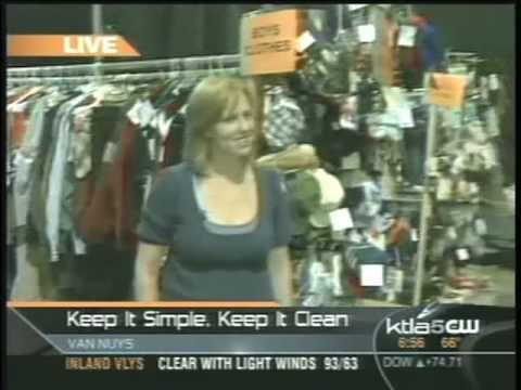 Channel 5 - Gayle Anderson - LA Kids Consignment Sale Fall 2008 - Segment 1