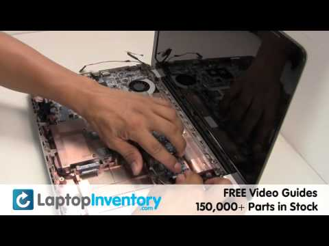 HP Compaq CQ56 G62 FAN Motherboard CPU Replacement Guide - Install Fix Replace - Laptop Notebook