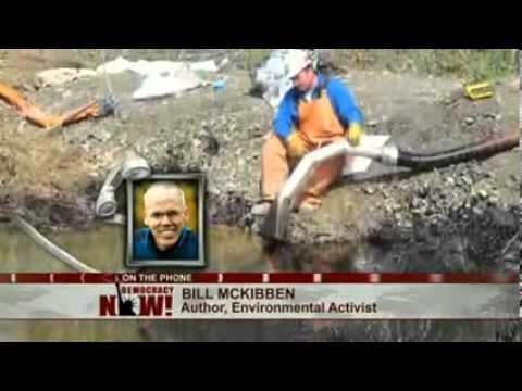 ExxonMobil Tar Sands Oil Pipeline Ruptures in Arkansas as Obama Ponders Fate of Keystone XL (Low )