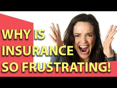 Why insurance agents are gerks! Who's fault is it?