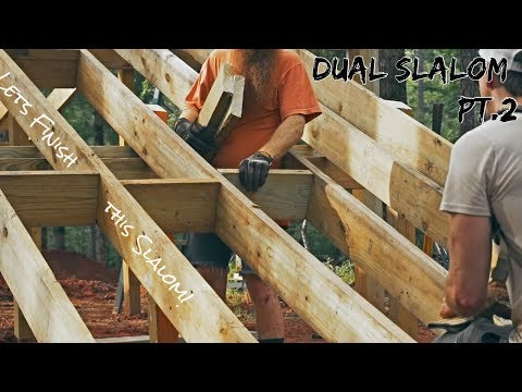 MTB Trail Building: Finishing the Dual Slalom dream build!
