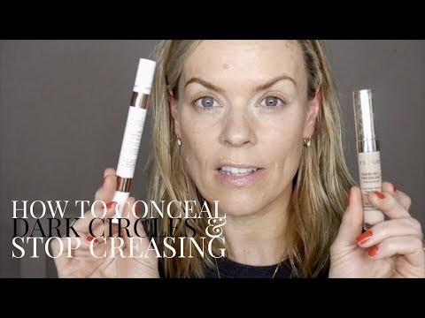 How to conceal dark circles & STOP creasing
