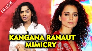 Jamie Lever On Kangana Ranaut Mimicry And Fans Getting Angry | Big Fan Of Kangana