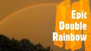 Download Rainbow - Epic Double Rainbow during rain 2019 Video