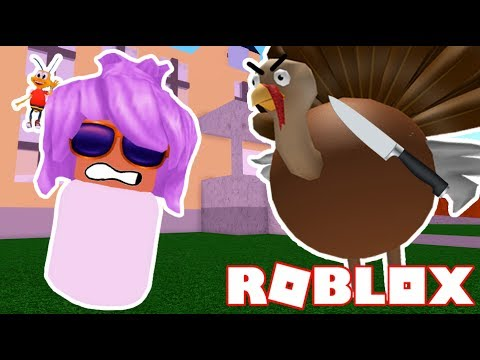Getting Adopted By An Evil Turkey In Roblox!